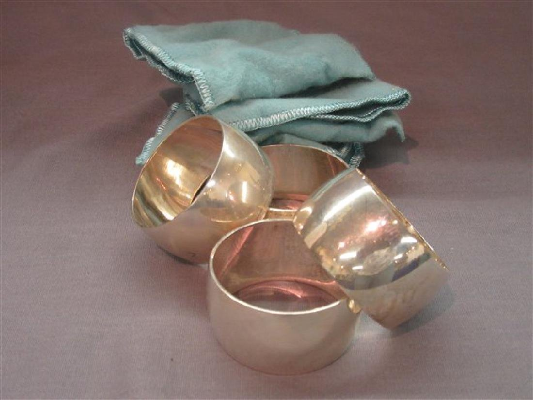 Tiffany & Co. Makers Sterling Silver Napkin Rings