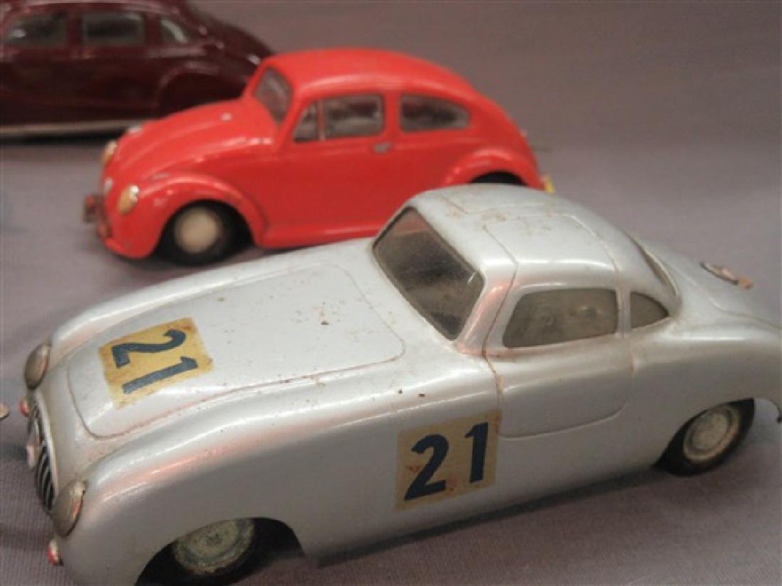 Five (5) Dux German Windup Cars - 3