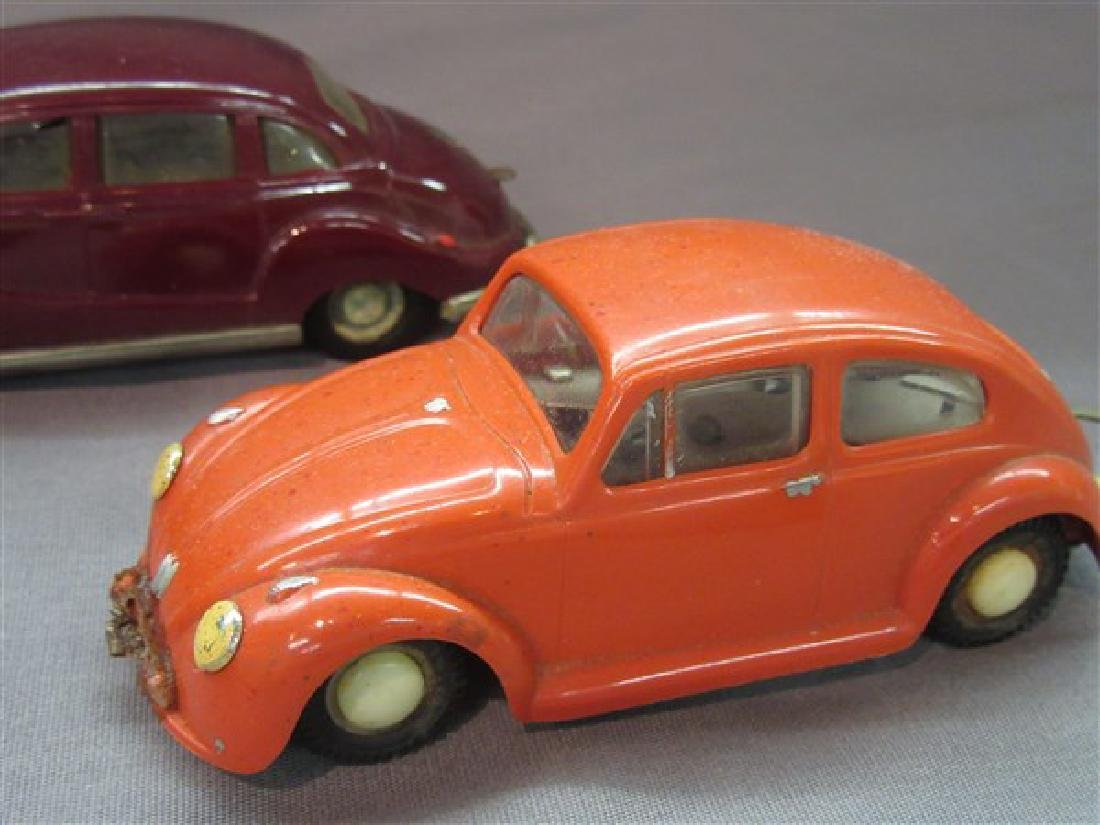 Five (5) Dux German Windup Cars - 4