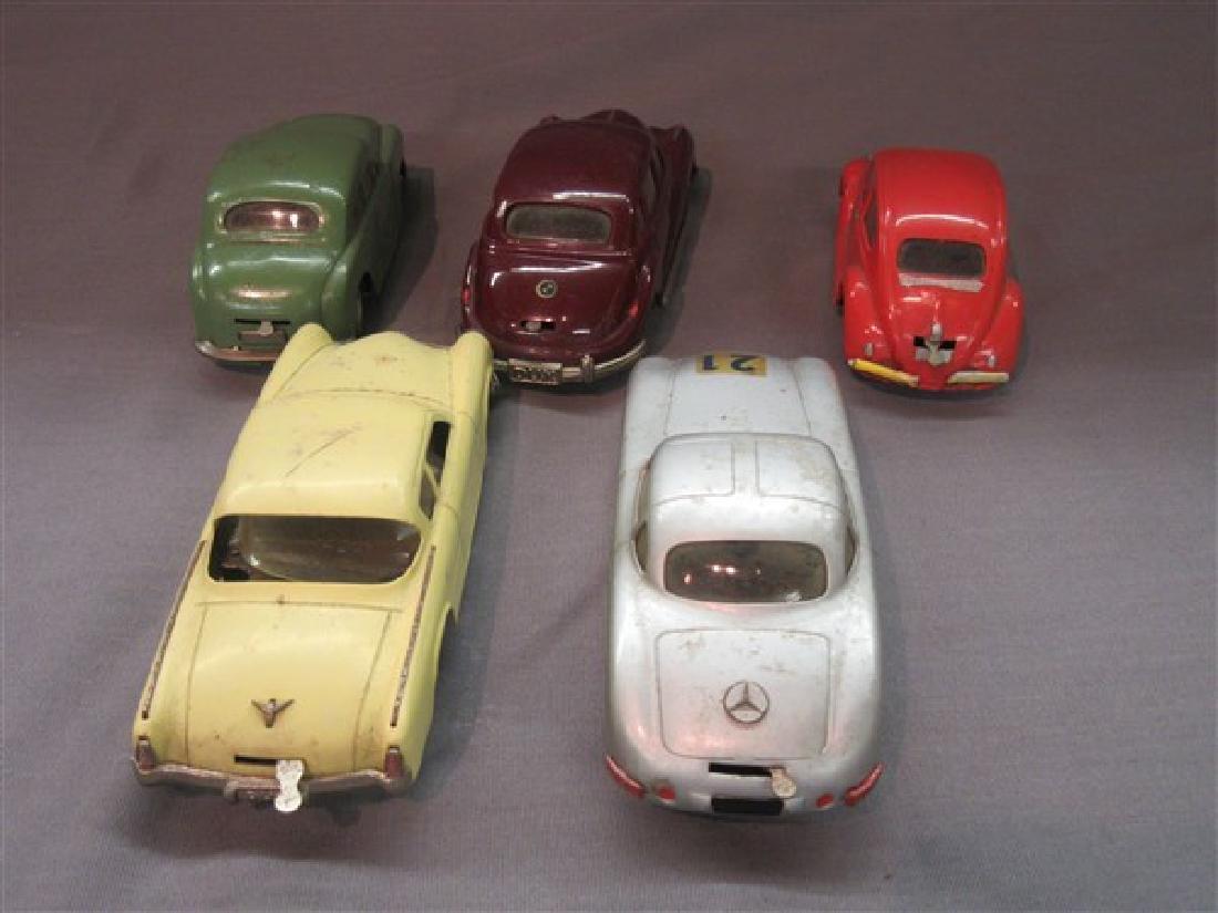 Five (5) Dux German Windup Cars - 6