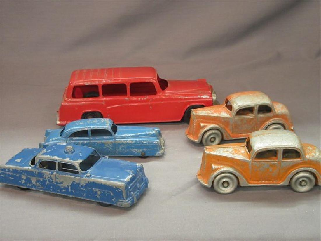 Five (5) Vintage Toy Vehicles