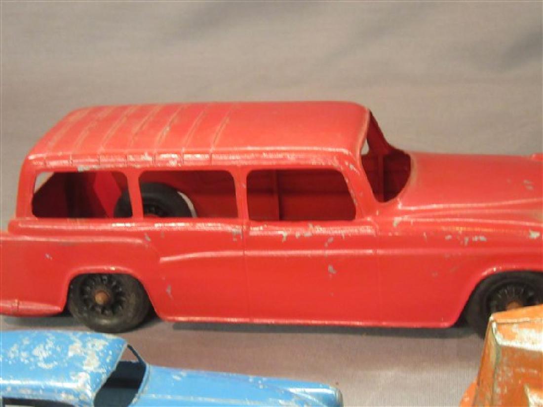 Five (5) Vintage Toy Vehicles - 4