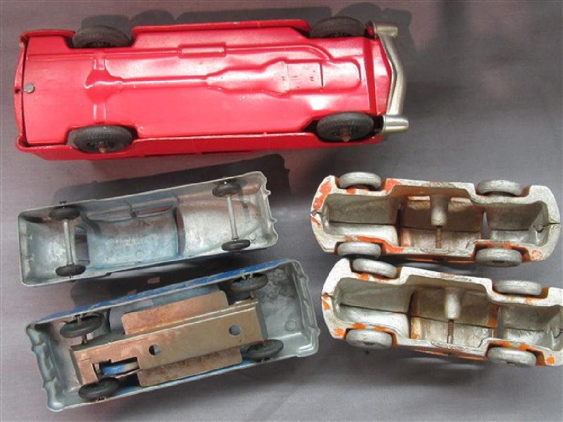 Five (5) Vintage Toy Vehicles - 5
