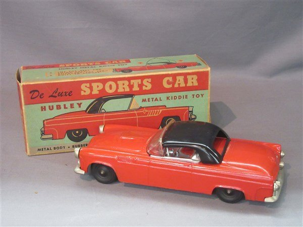Vintage Hubley Deluxe Sports Car
