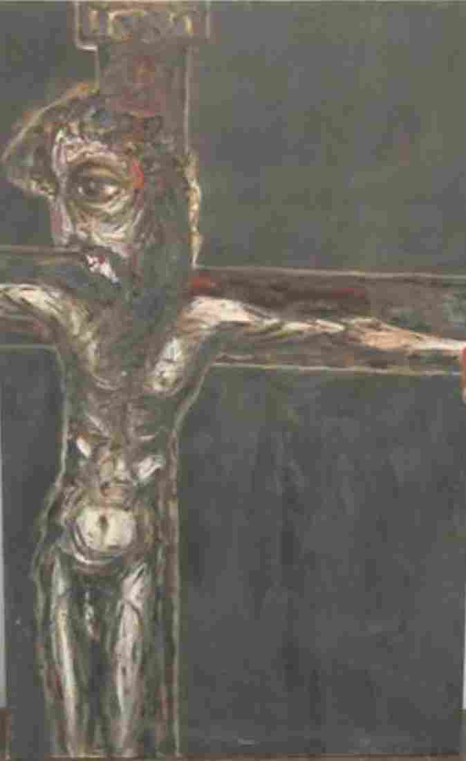 Luis Cruz Azaceta (American/Cuban b.1942) Crucifixion