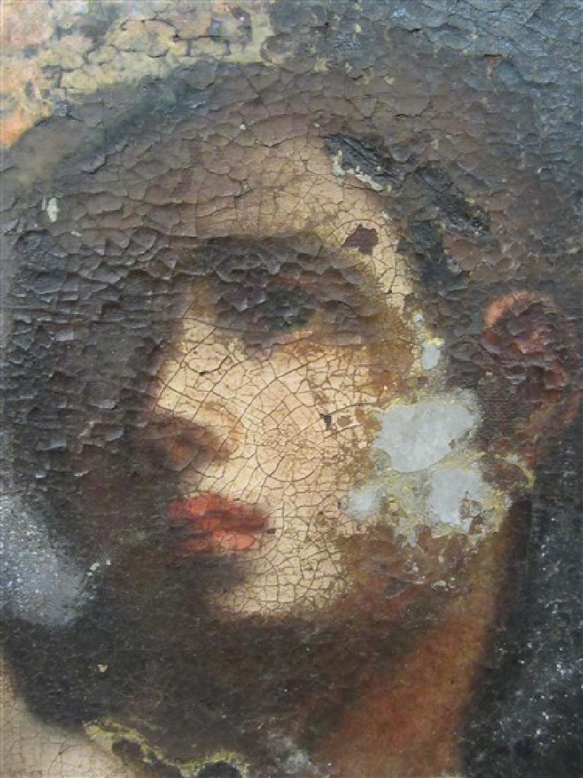 17th/18th c. Italian Nude Figure Oil Painting - 5