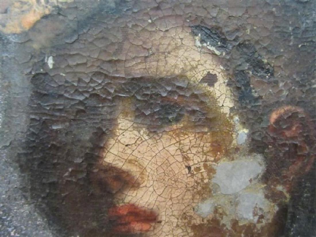 17th/18th c. Italian Nude Figure Oil Painting - 6