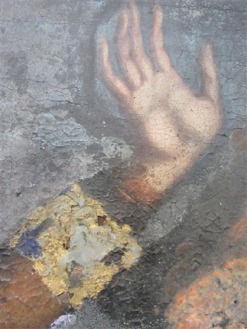 17th/18th c. Italian Nude Figure Oil Painting - 7