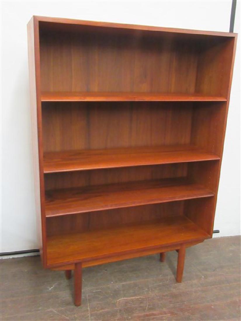Danish Modern Teak Wood Book Case