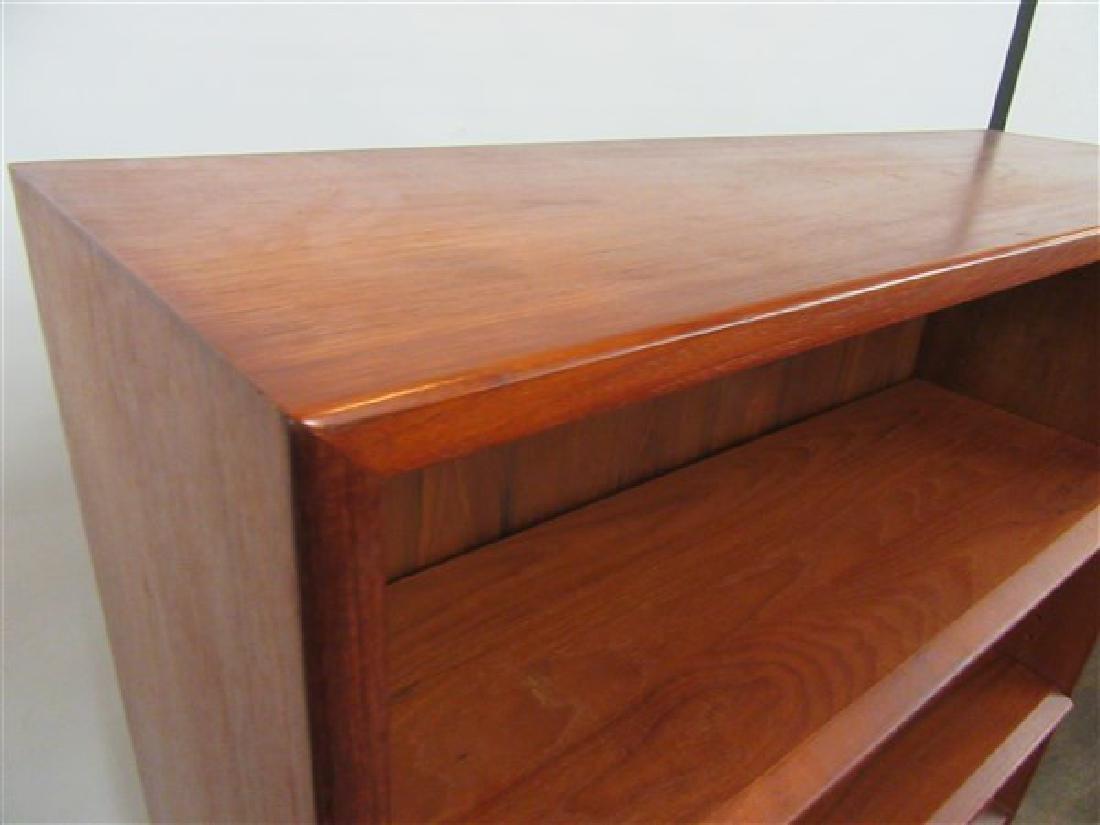 Danish Modern Teak Wood Book Case - 5