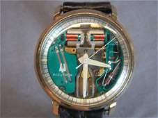 Bullova Spaceview Mens Wristwatch c.1970