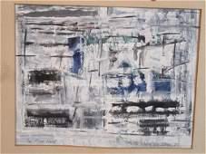 Maria Helena Vieira Da Silva[(1908 -1992] Abstract