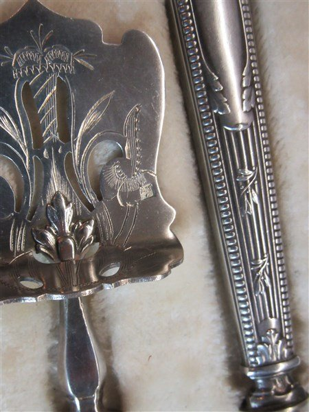 19th c. French 800 Silver - 3