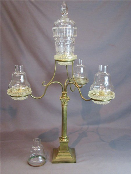 "Clarke's ""Cricklite"" Victorian  Fairy Lamp"