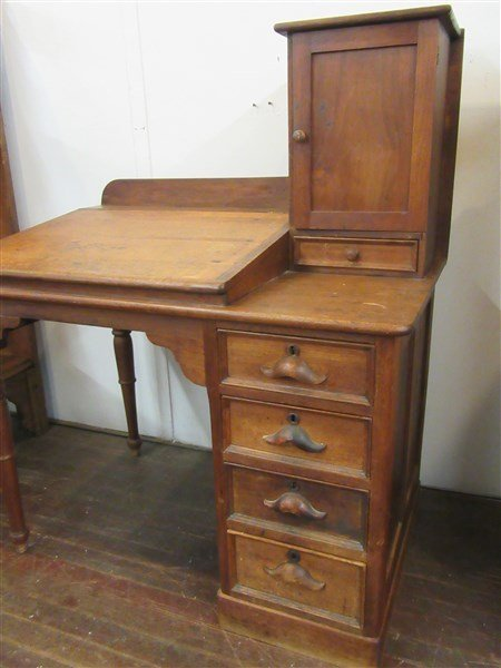 Old Shopkeepers Desk - 2