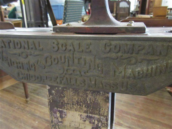 National Scale Company Antique Pulleys Scale - 5