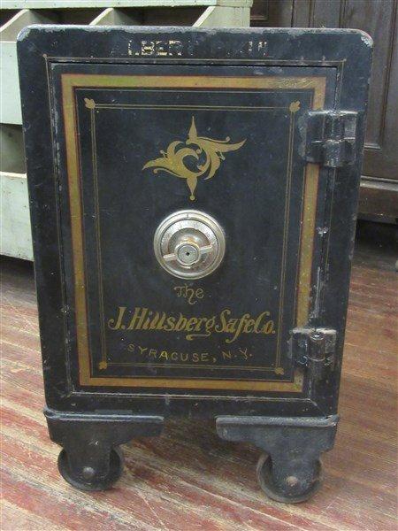 J. Hillsberg Antique Safe Syracuse N.Y.