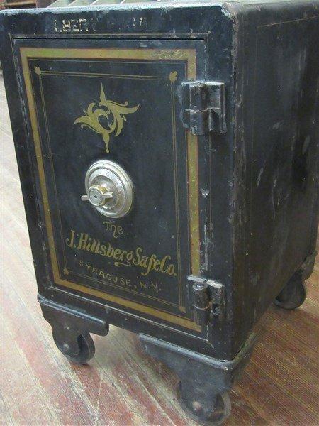 J. Hillsberg Antique Safe Syracuse N.Y. - 3