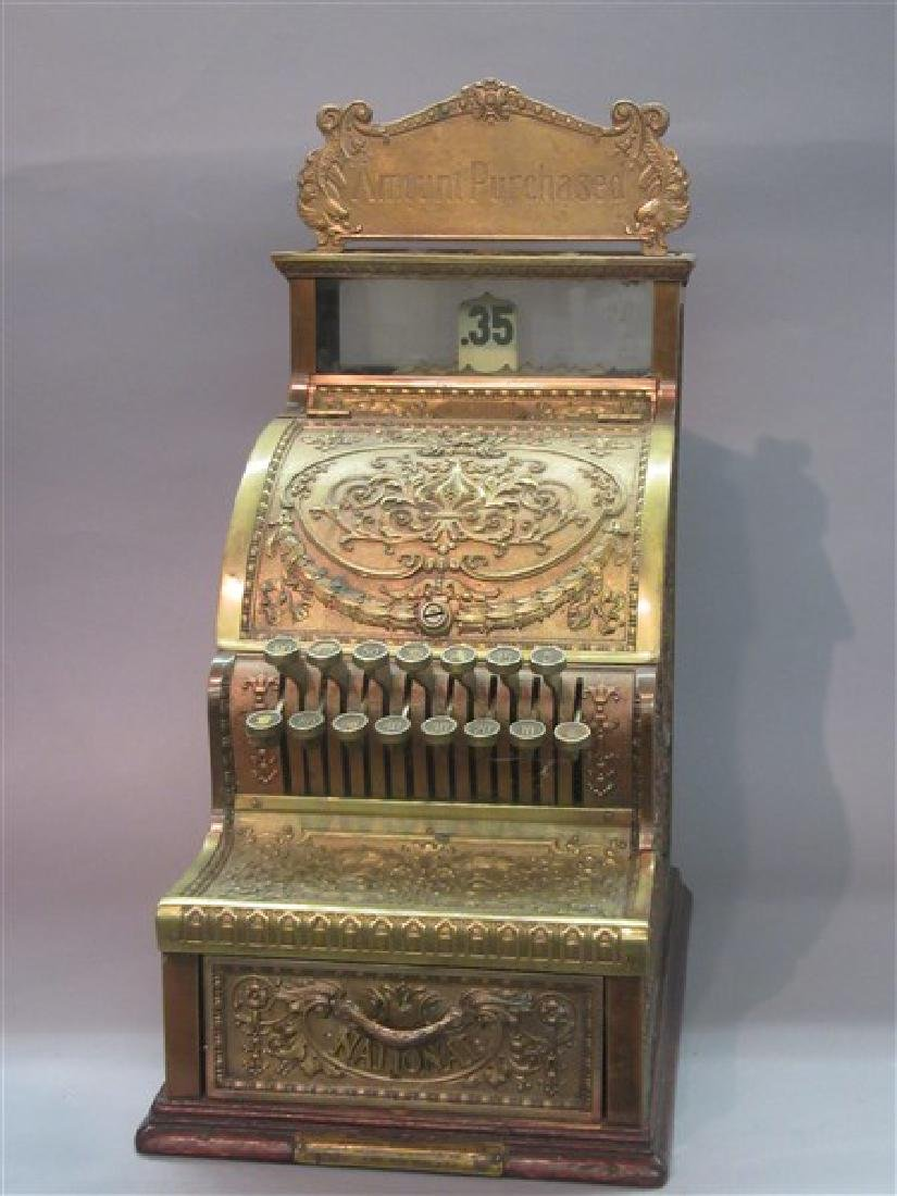 National Brass Model 311 Candy Store Cash Register