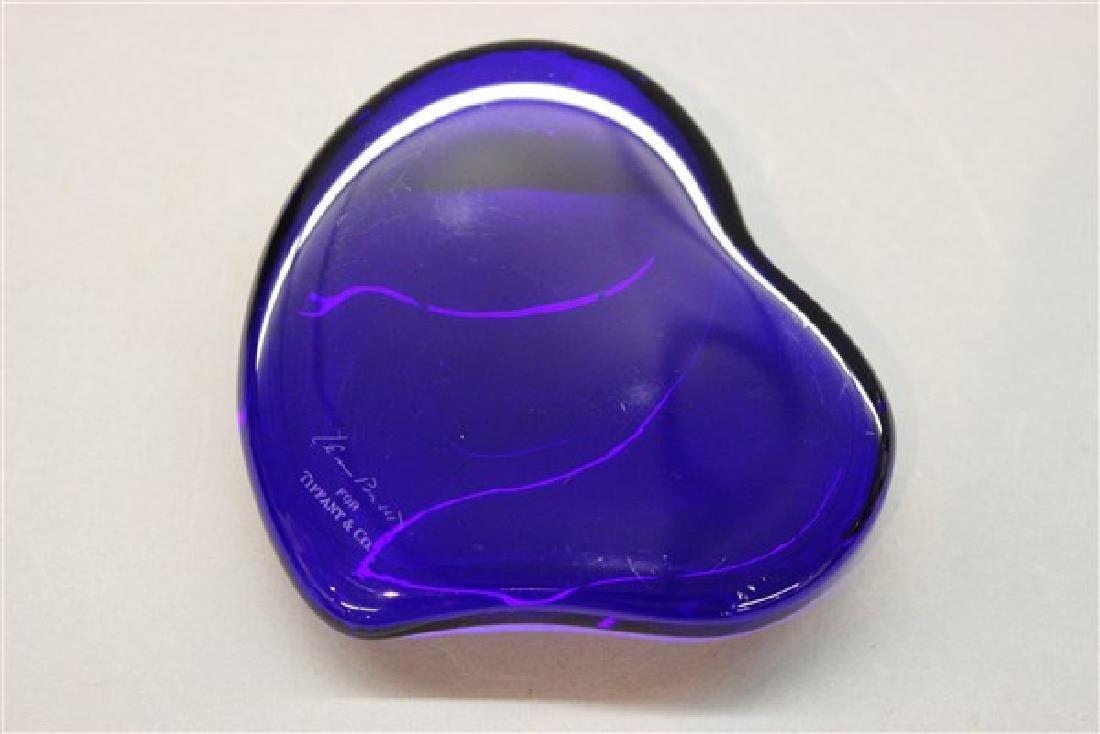 Tiffany & Co.  Elsa Peretti Heart Paperweight - 2
