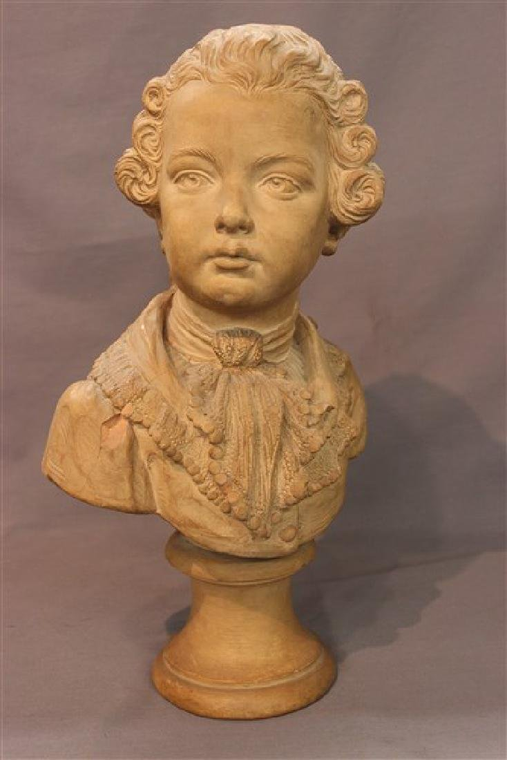 French Terracotta Bust