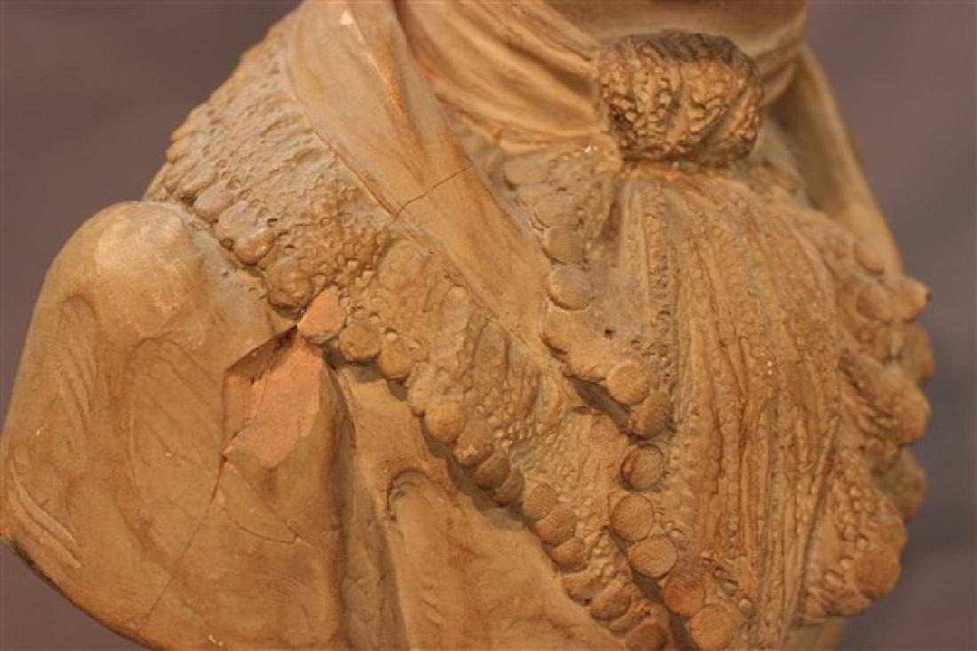 French Terracotta Bust - 2