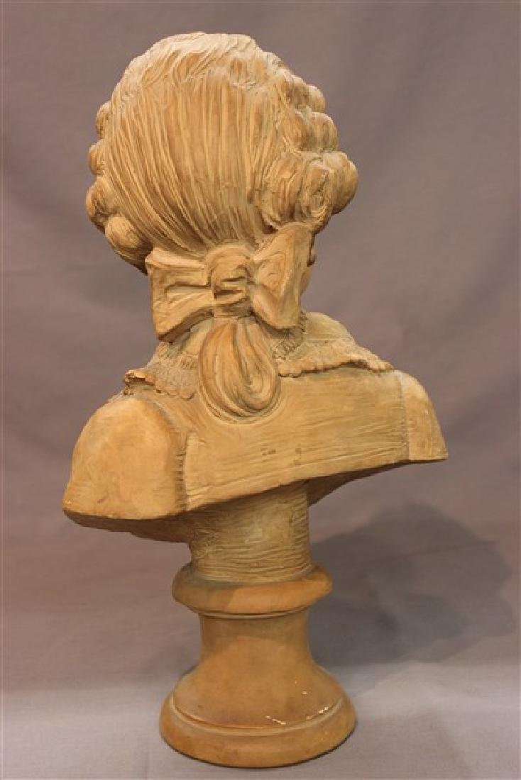 French Terracotta Bust - 3