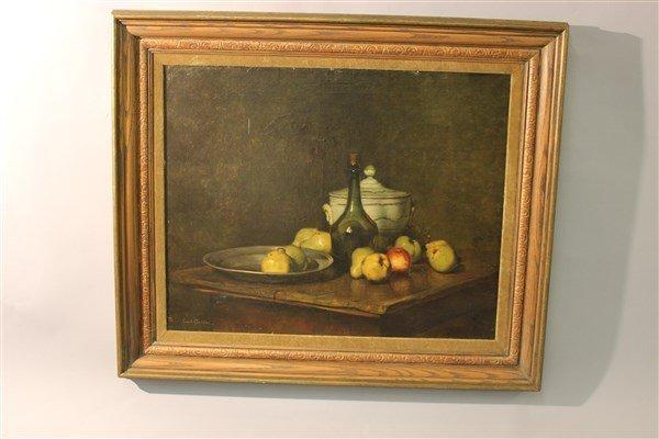 Emil Carlsen, Oil On Canvas Still Life Painting - 5
