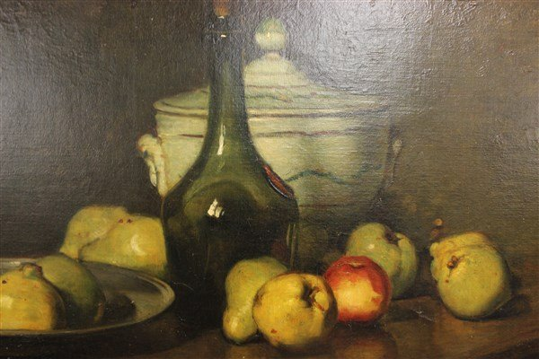 Emil Carlsen, Oil On Canvas Still Life Painting - 9