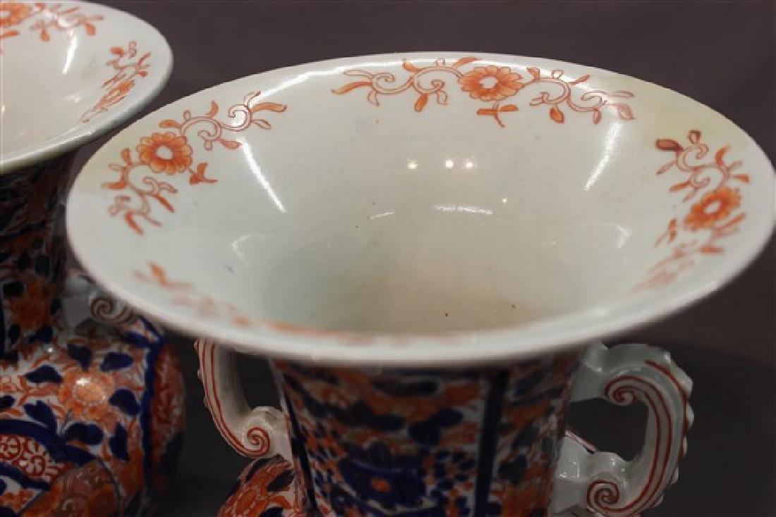 A Pair of Chinese Imari Vases - 2