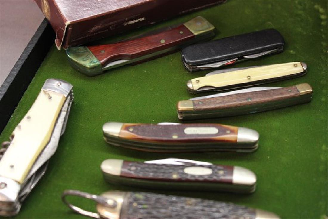Estate Found Pocket Knives Group - 3