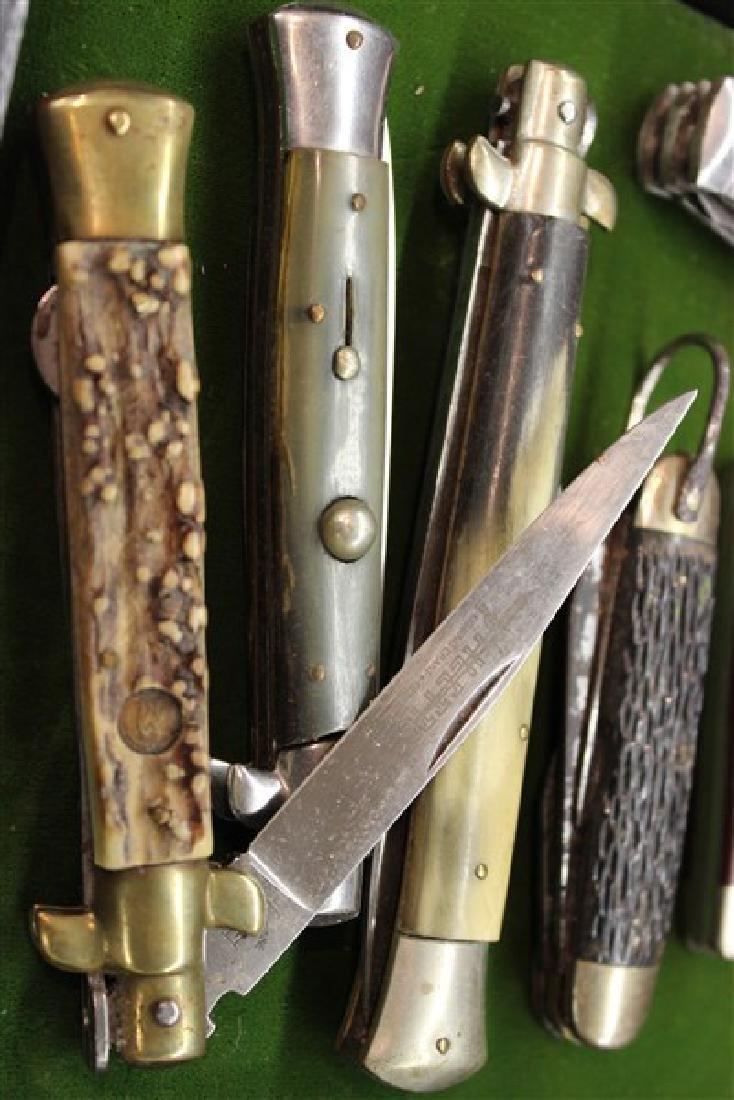 Estate Found Pocket Knives Group - 5