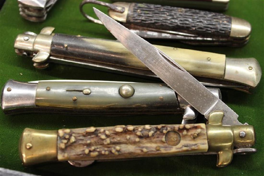 Estate Found Pocket Knives Group - 6