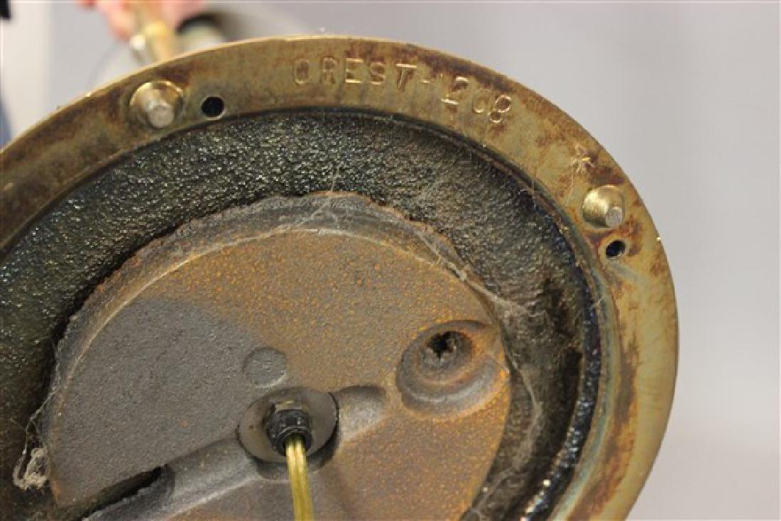 Vintage Brass Floor Lamp by Crest - 3