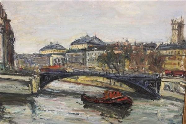Arbit Blatas (Lithuanian, 1908-1999) Oil on Canvas