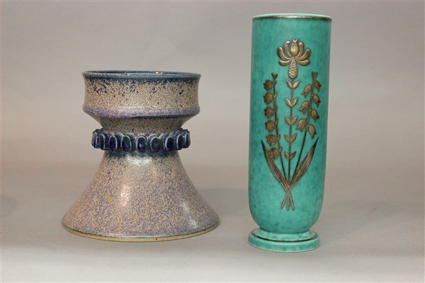 Scandinavian Art Pottery Lot