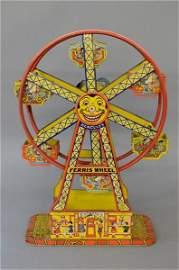 Chein Hercules Tin Toy Ferris Wheel