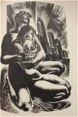 1936 Song Without Words, Lynd Ward Signed Edition