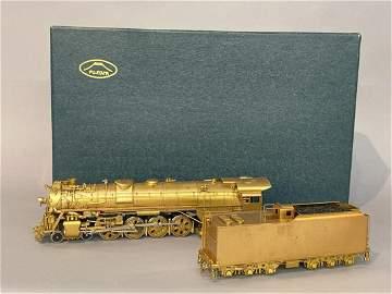 Fujiyama Missouri Pacific 4-8-4 HO Brass Train