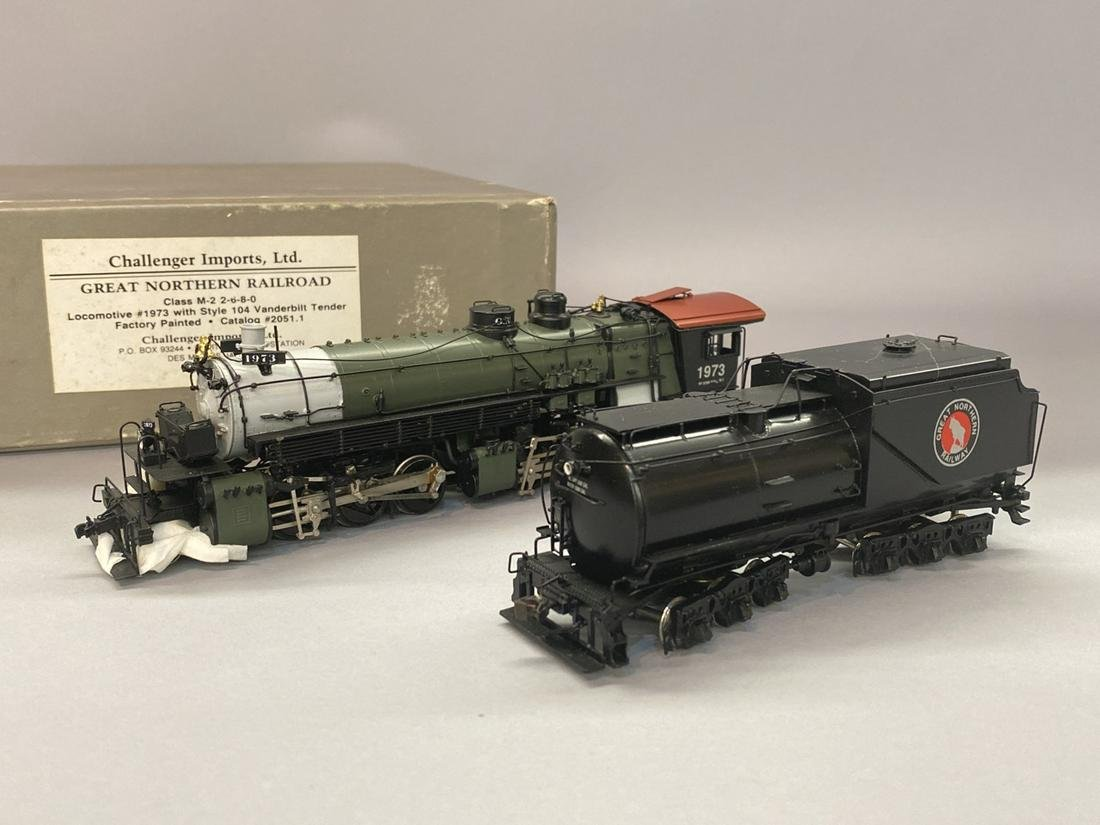 Challenger Imports HO Locomotive #1973 Brass Train