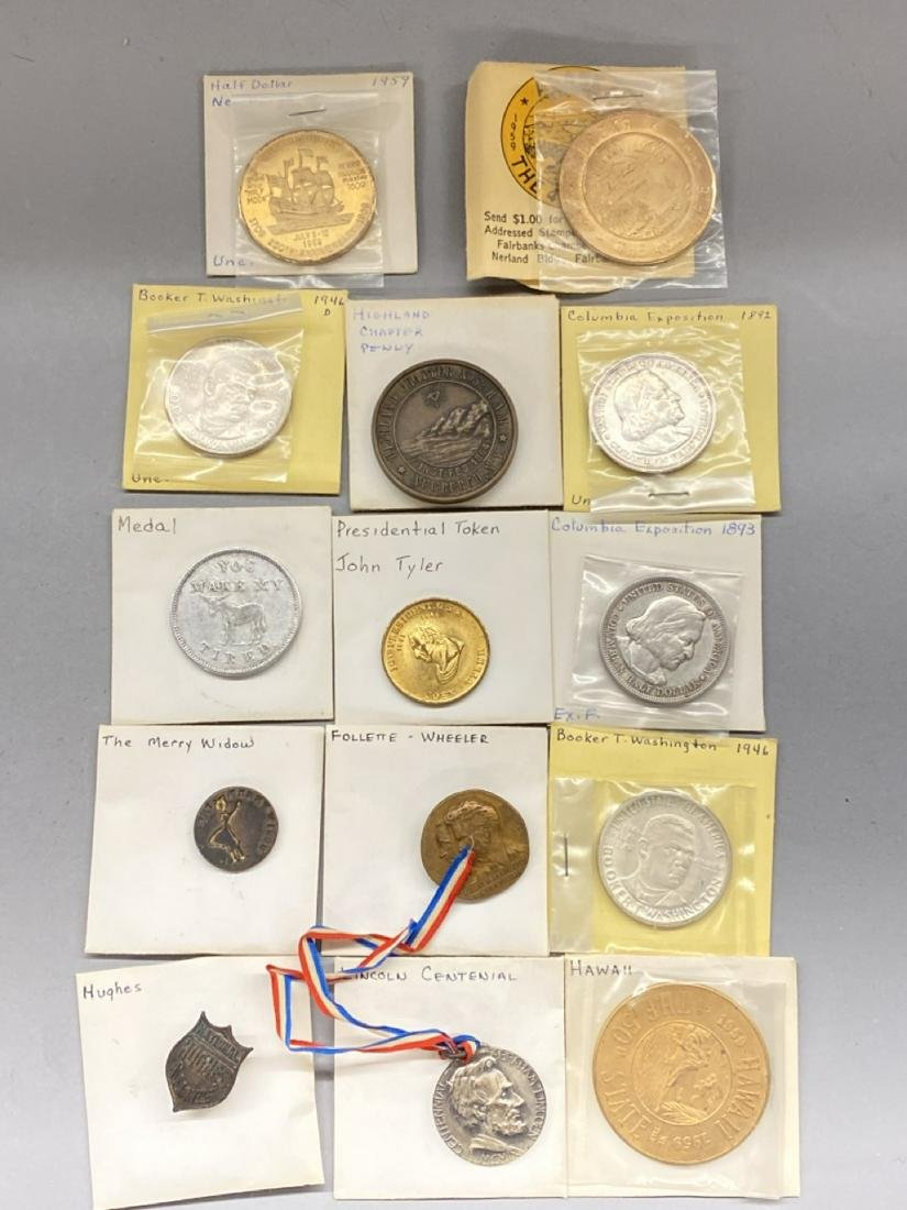 U.S. Political And Historical Tokens Lot