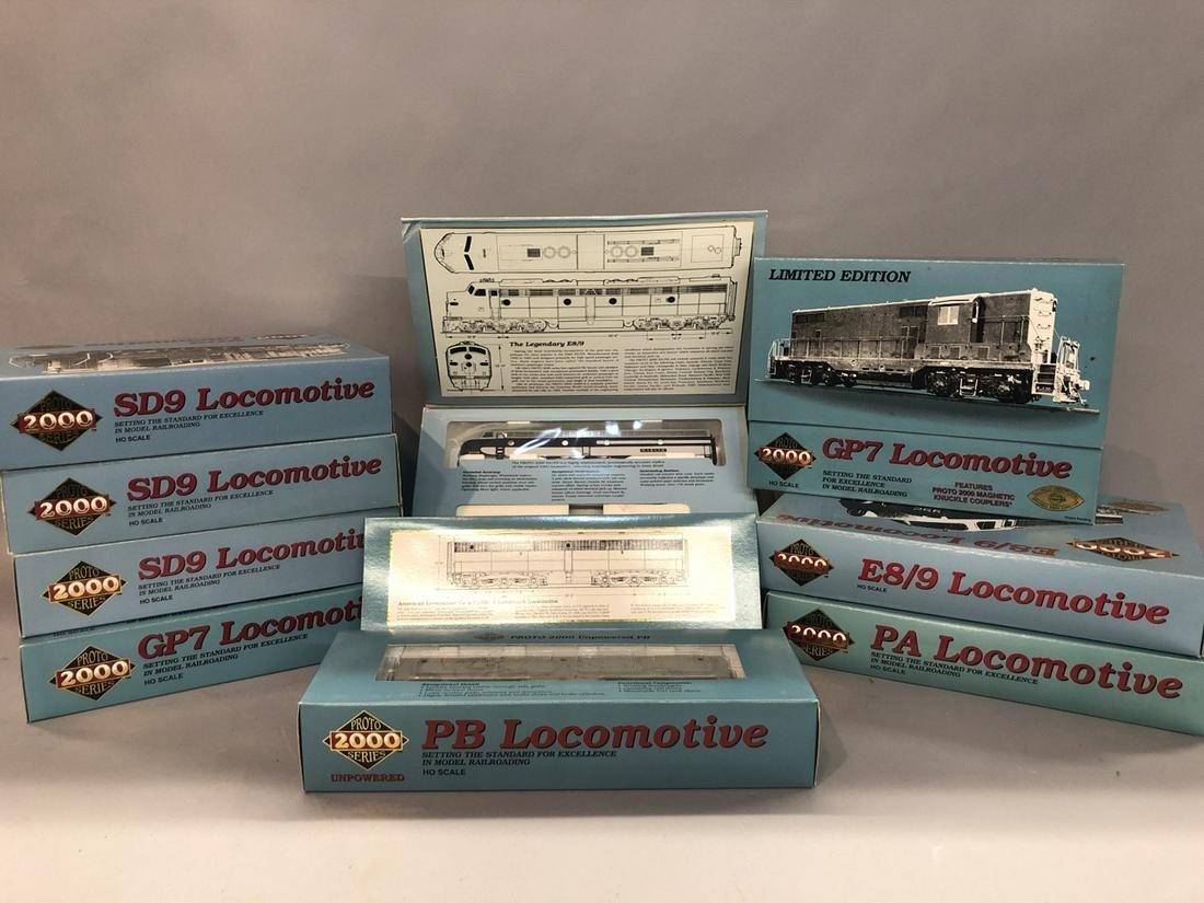 Porto 2000 Series Locomotives Trains Lot