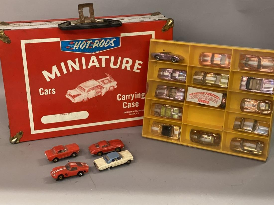 Vintage Estate Collection Hot Wheels, Aurora... Red