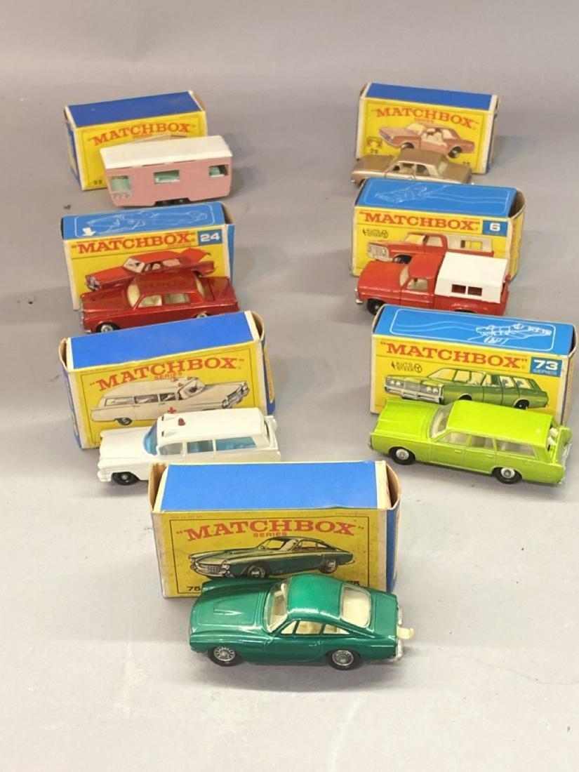 Seven (7) Vintage Matchbox Cars