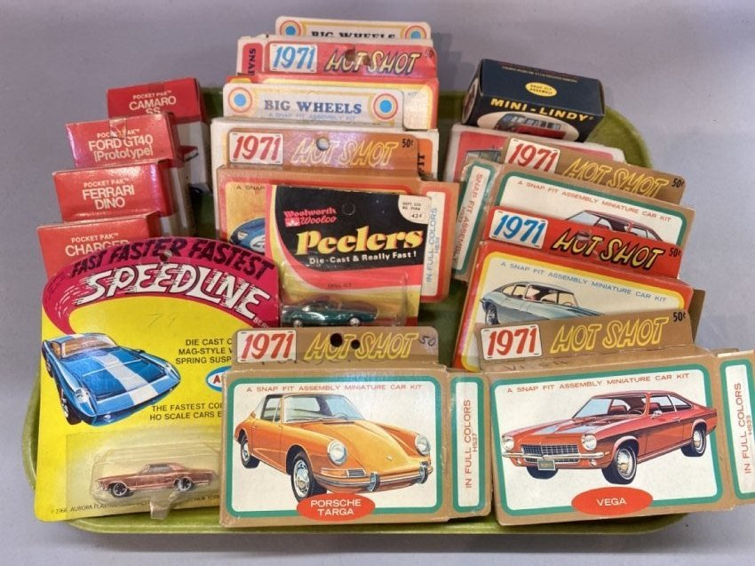 1960's And 1970's Toy Model Car Lot