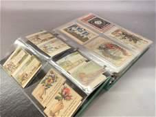 Victorian trade card album 250+ pieces