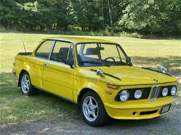 1970 BMW 2002 One Owner