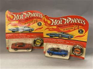 Two (2 Vintage Hot Wheels Redlines In Packages