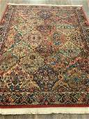 """Small Wool Area Rug 5ft 9"""" X 4ft 5"""""""