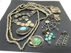 Sterling Silver Jewelry Grouping
